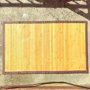 Other - Brown Bamboo Doormat